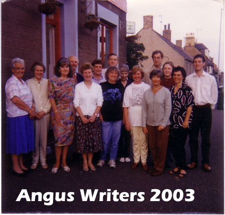 Angus Writers at Friockheim